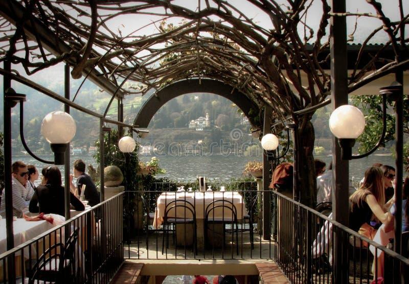 View of Lago Maggiore royalty free stock photo