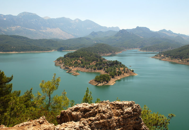 Download View From The Lake Stock Images - Image: 2910634