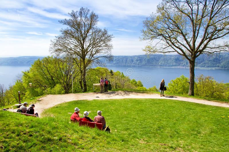 Download View On Lake Constance Bodensee Editorial Stock Image - Image of environment, horizontal: 113140894