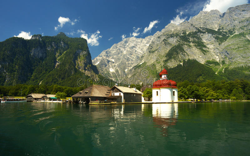 Download View Of The Lake Of Königsee Stock Photo - Image: 83702274