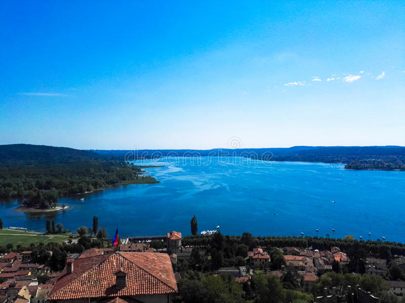 View of Lake Maggiore stock photos