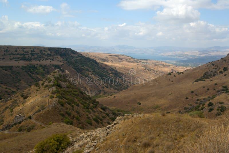 View of lake Tiberius royalty free stock images