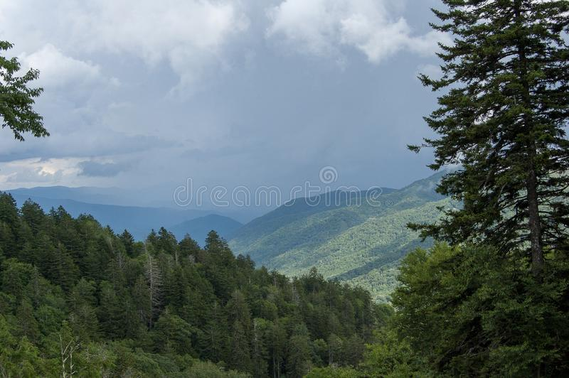 Scene from Great Smokey Mountains National Park royalty free stock photography
