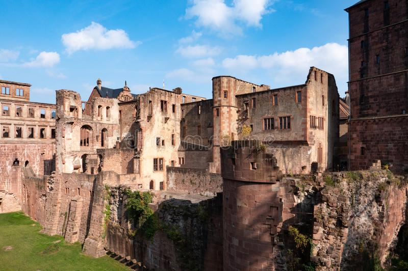 View landscape of inside of Heidelberg Castle and German called Heidelberger Schloss is a ruin in Germany and landmark of. Image of View landscape of inside of stock photos