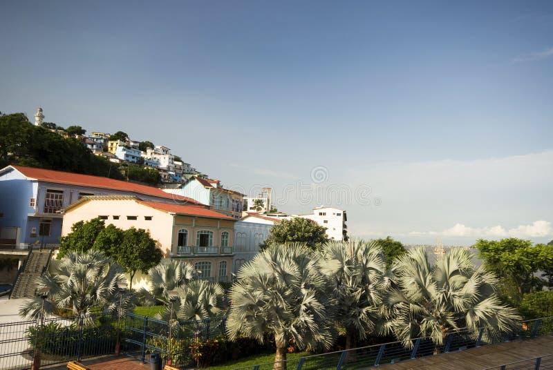 View of las penas guayaquil ecuador royalty free stock photos