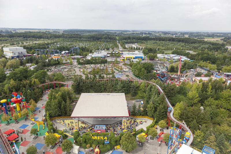 View of the Legoland Germany stock photos