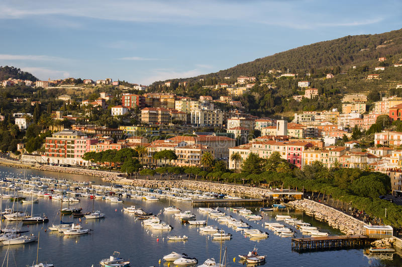 View of Lerici royalty free stock images