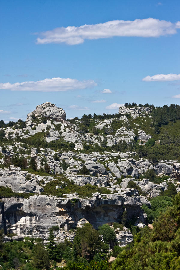 Download The View From Les Baux Stock Photo - Image: 25515970