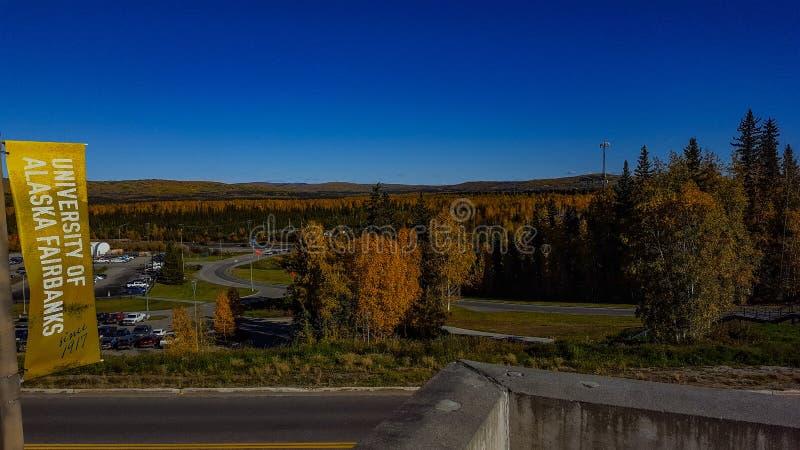 University of Alaska Fairbanks stock images