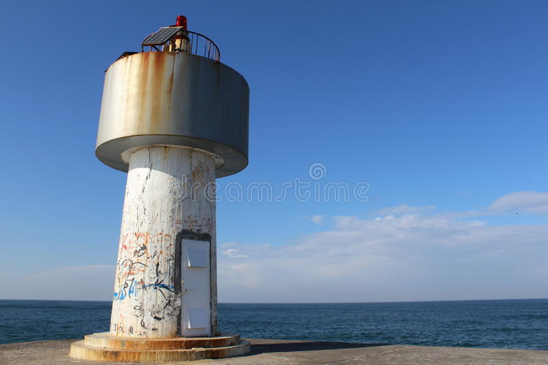 View lighthouse ÅŸile istanbul royalty free stock photo