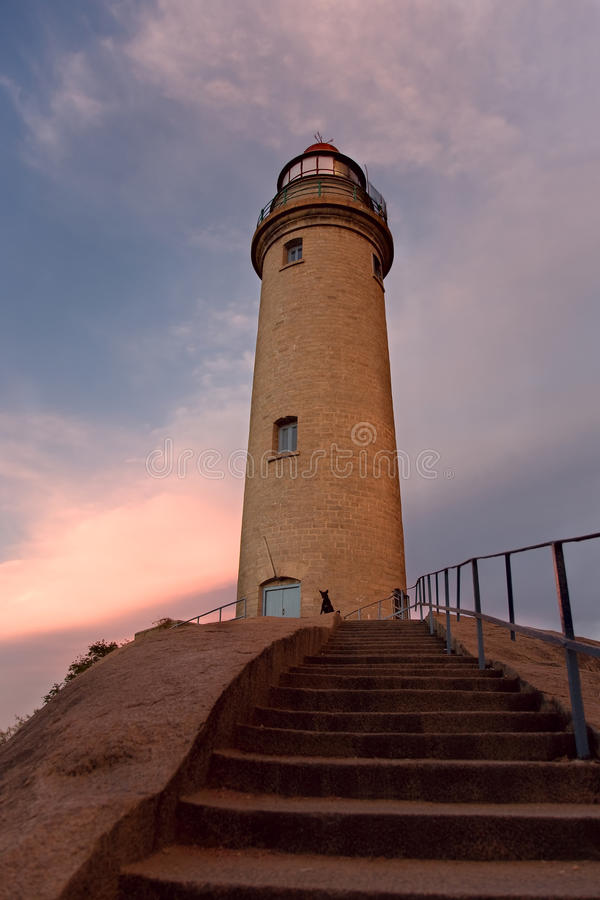 Download View Of Lighthouse And Staircas Royalty Free Stock Photo - Image: 25634285