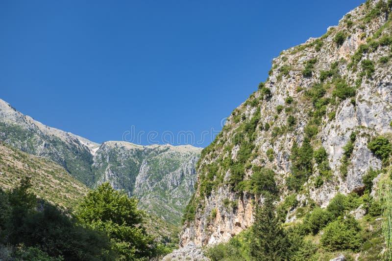 View of Llogara National Park stock photos