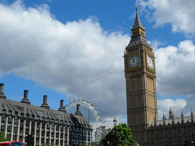 View Of London Royalty Free Stock Photo