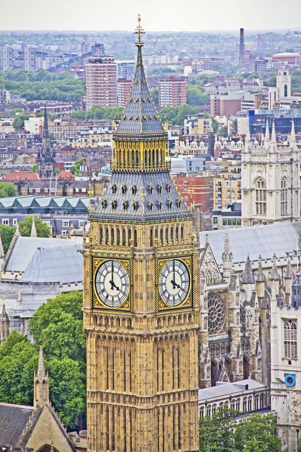 Download View Of London And The Big Ben Stock Photo - Image: 26155656