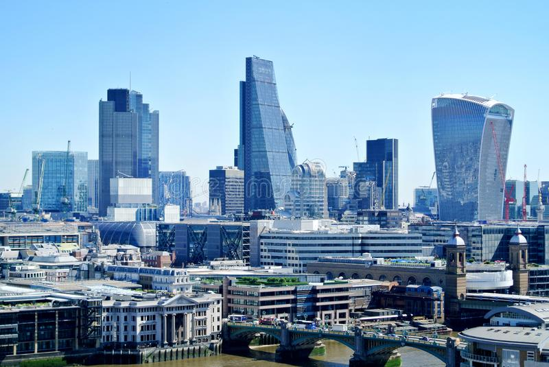 View of London. The View of London in UK stock images