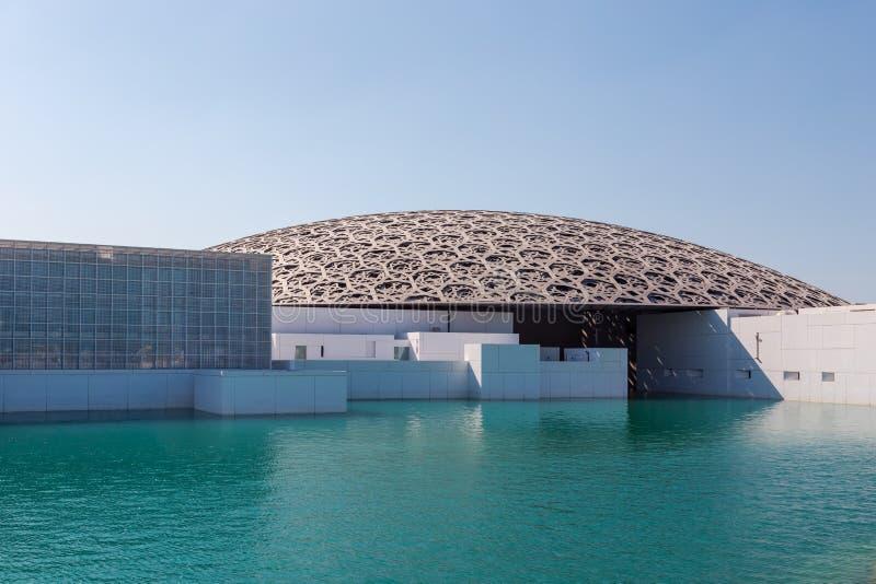 Abu Dhabi, United Arab Emirates, November 14, 2017: Louvre Abu Dhabi. stock image