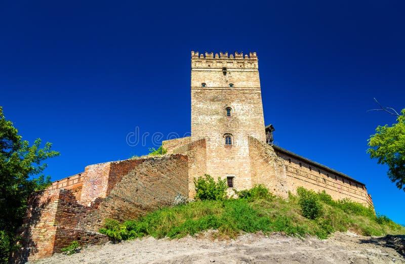 View of Lubart Castle in Lutsk - Ukraine stock photos