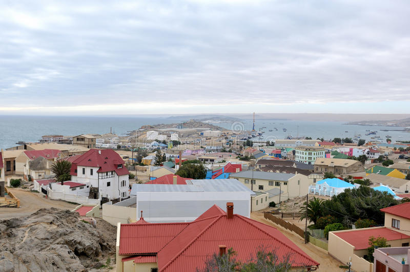 Download View Of Luderitz In Namibia Stock Image - Image of ship, scenic: 26322797