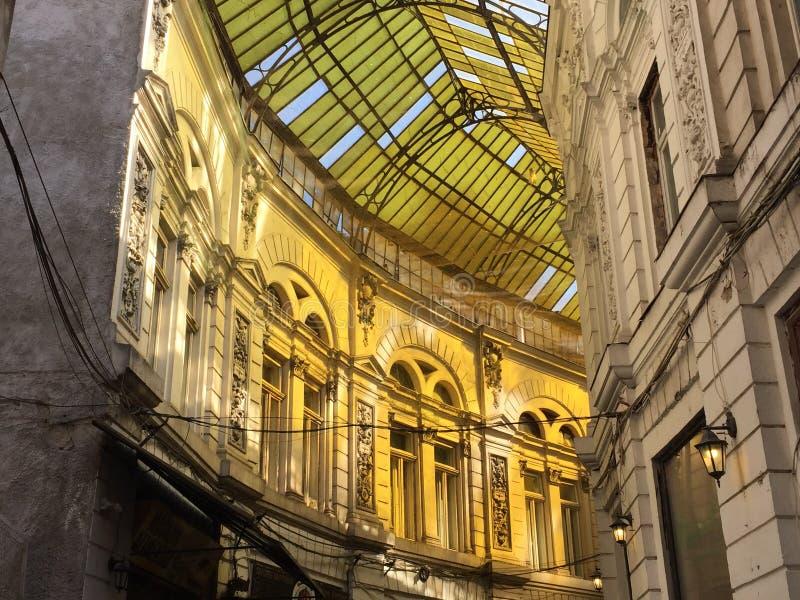 Passage Macca Vilacrosse, Bucharest, Romania royalty free stock images