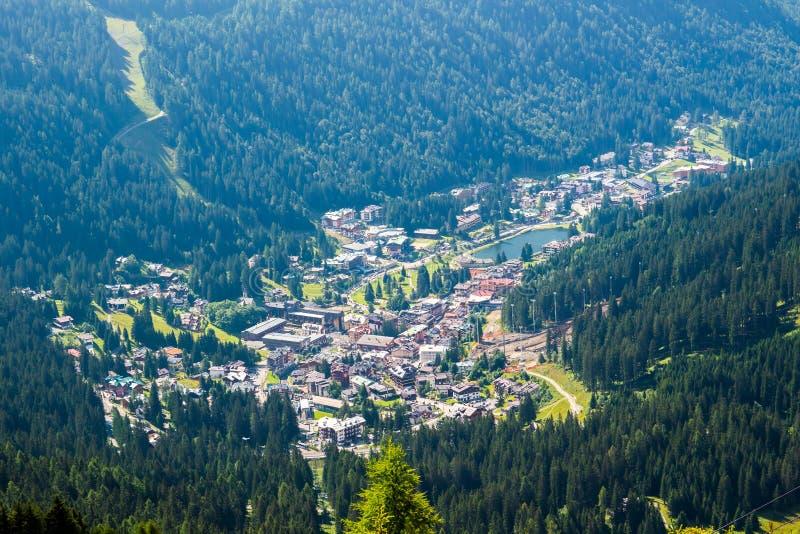 View Of Madonna Di Campiglio A Town In Trentino Italy Stock Image