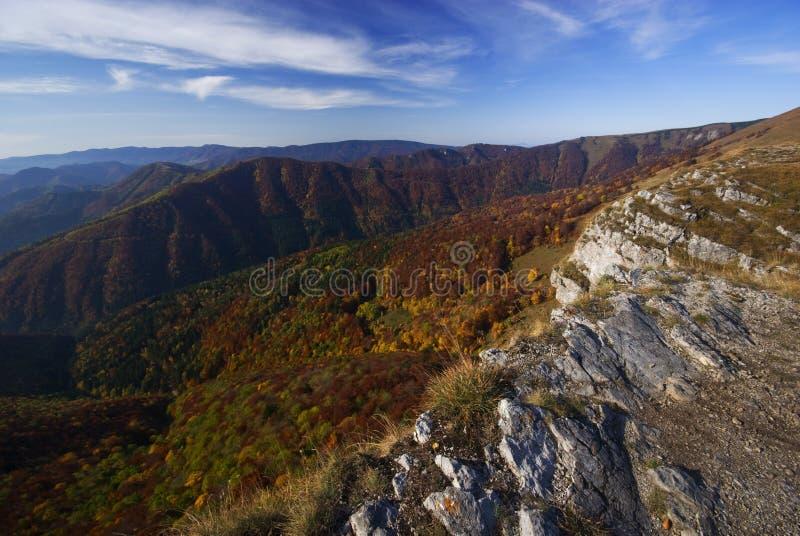 View from Majerova Skala rock stock photography