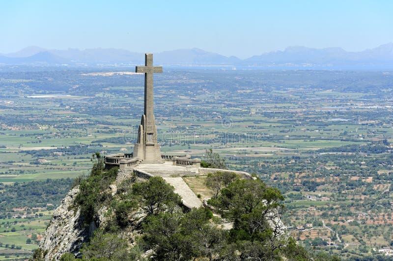 View Of Majorca From Piug De San Salvador Royalty Free Stock Photos