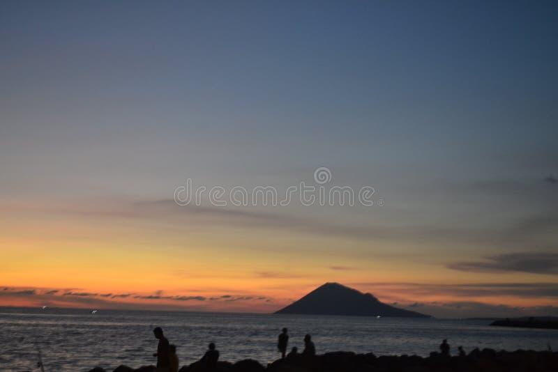 View Manado Tua stock photos