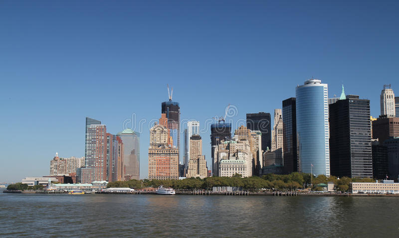 Download View of Manhattan stock photo. Image of quay, ferry, port - 21718108