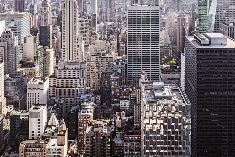 View of Manhattan stock photo