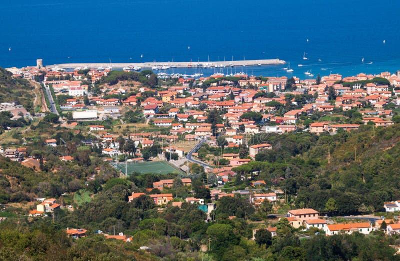 Download View of Marciana stock photo. Image of idyllic, mediterraneum - 26323418