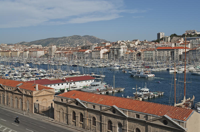 View Of Marseille In South France Stock Image
