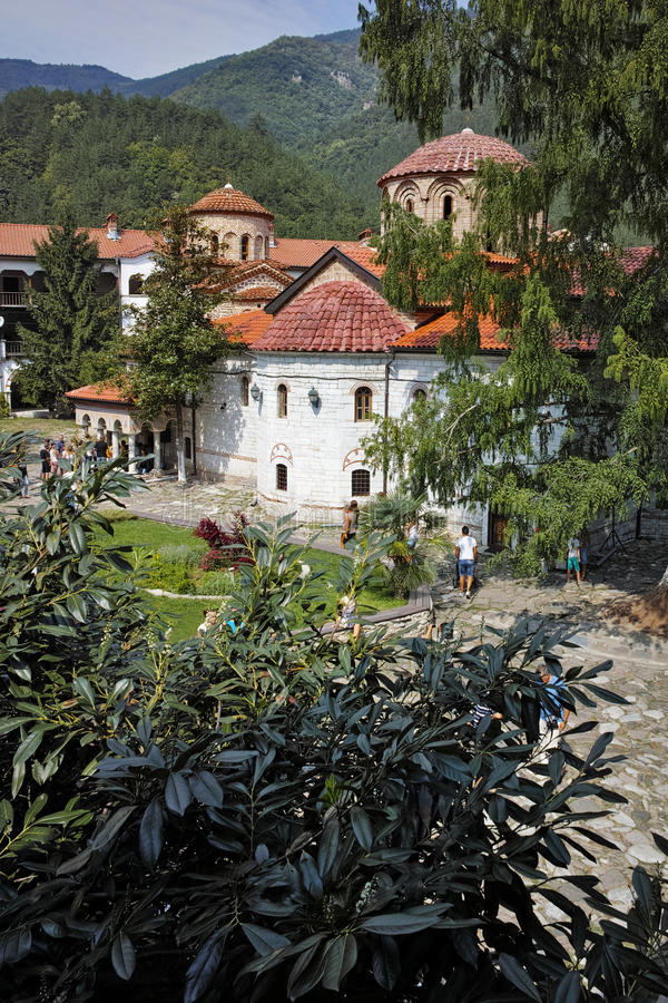 View of Medieval Bachkovo Monastery. Bulgaria royalty free stock image