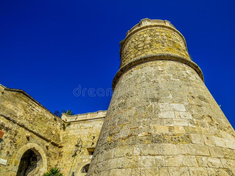 Castello di San Michele Castle of St. Michel in Cagliari, Italy. View of the medieval Castello di San Michele Castle of St. Michel in Cagliari, Italy royalty free stock image