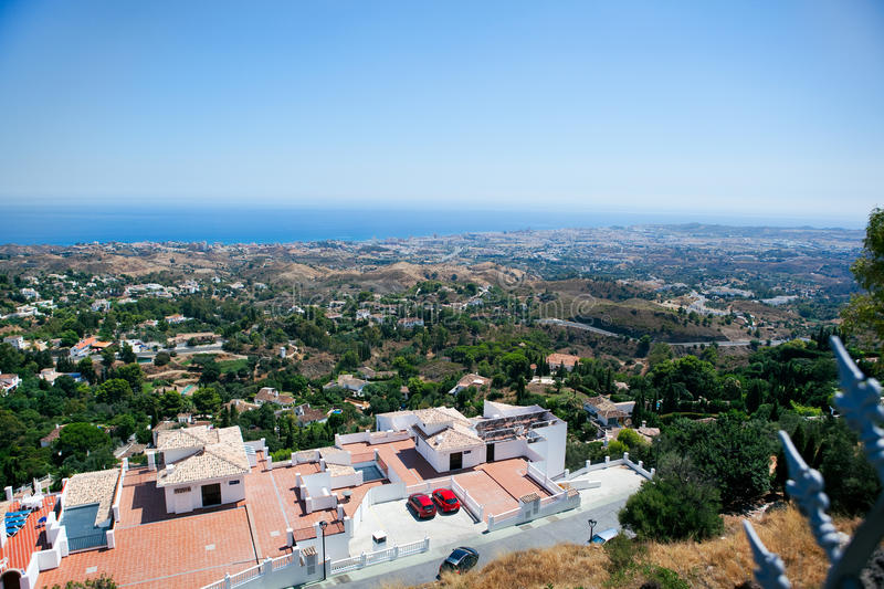 Download View Of The Mediterranean Sea Stock Photo - Image of panoramic, landscape: 15892124