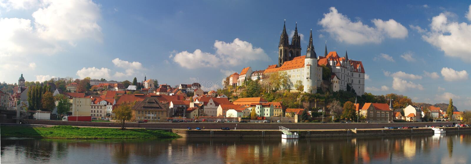View on Meissen royalty free stock photo