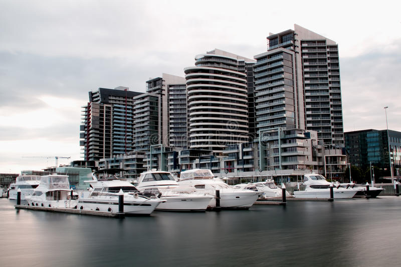 Download View Of Melbourne Docklands Stock Photo - Image: 15403304
