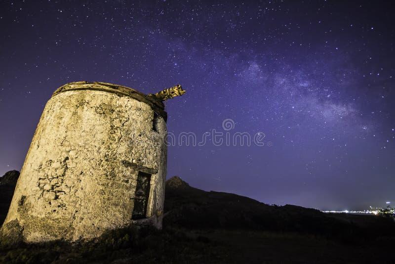 Perseid Meteor Shower stock photos