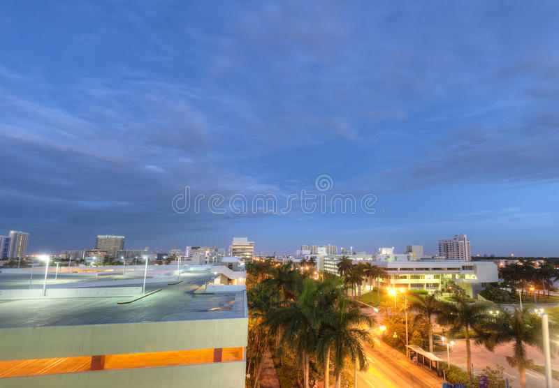 Download View of Miami Beach stock photo. Image of parking, architecture - 25802374