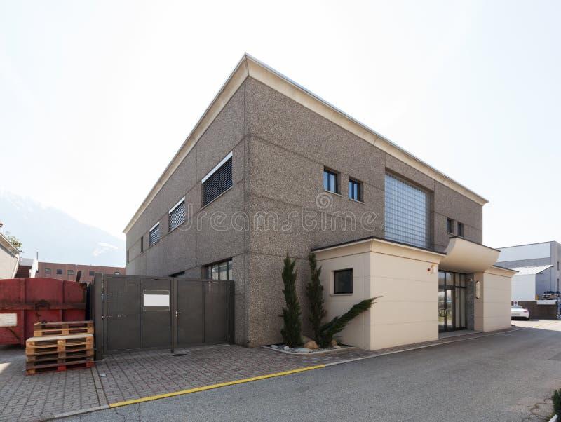 Building exterior, warehouse stock photography