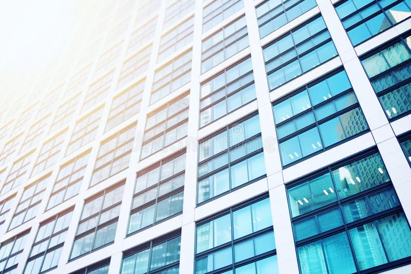 View of modern skyscraper. Concept of development and future stock image