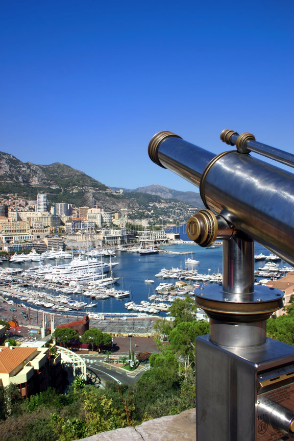 A view of Monaco - Montecarlo, France royalty free stock image
