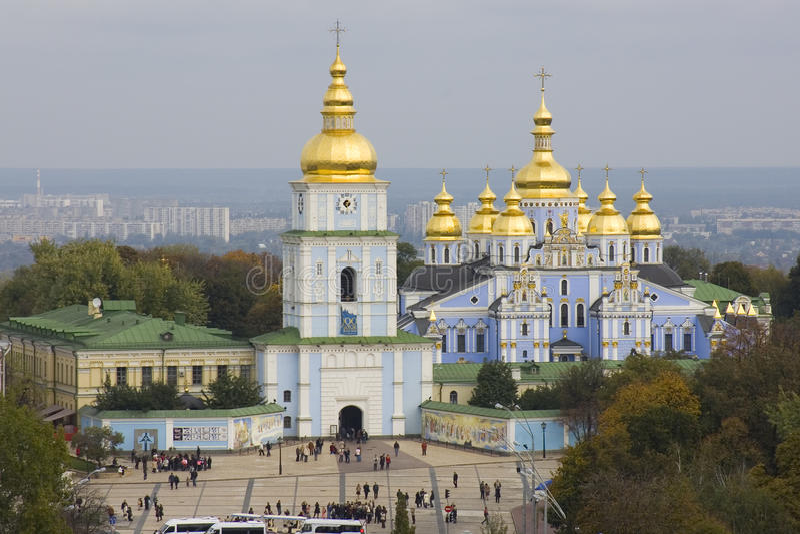 View on monastery in Kiev