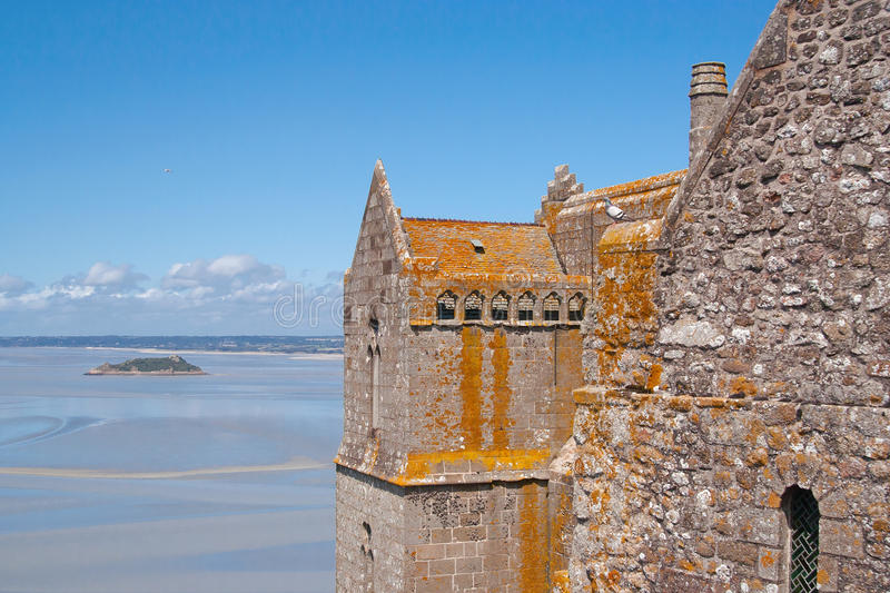 Download View From Mont Saint-Michel Stock Image - Image: 25868331