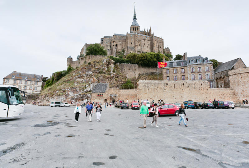 Download View On Mont Saint-Michel, France Editorial Photo - Image: 23182751