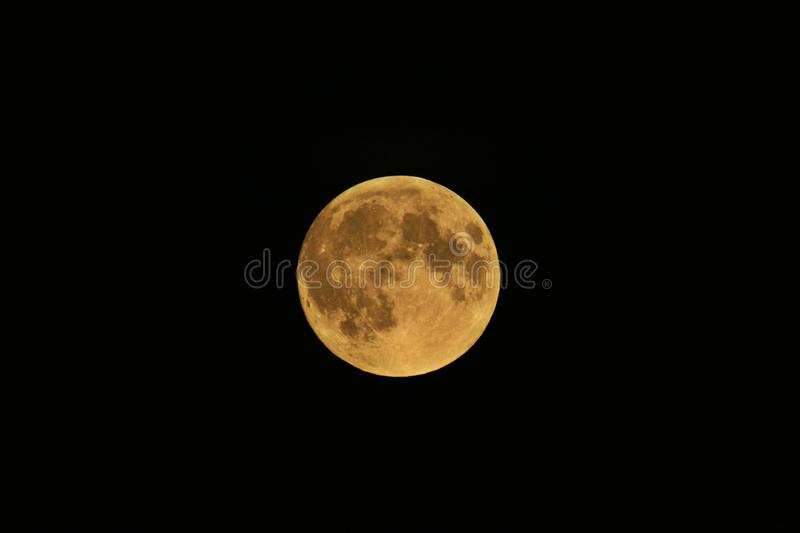 A view of the Moon royalty free stock image