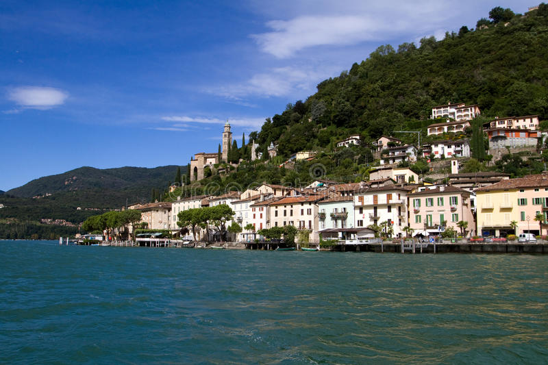 Download View Of Morcote, Switzerland Stock Photo - Image: 15609952