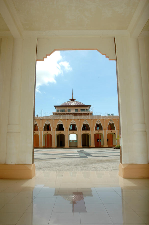 Download A View At Mosque Baitul Izzah Stock Image - Image: 33071431