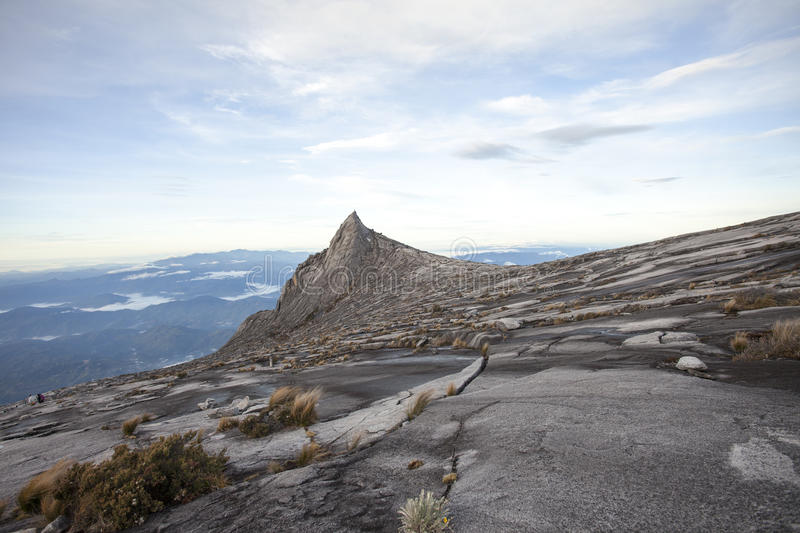 View from Mount Kinabalu stock image
