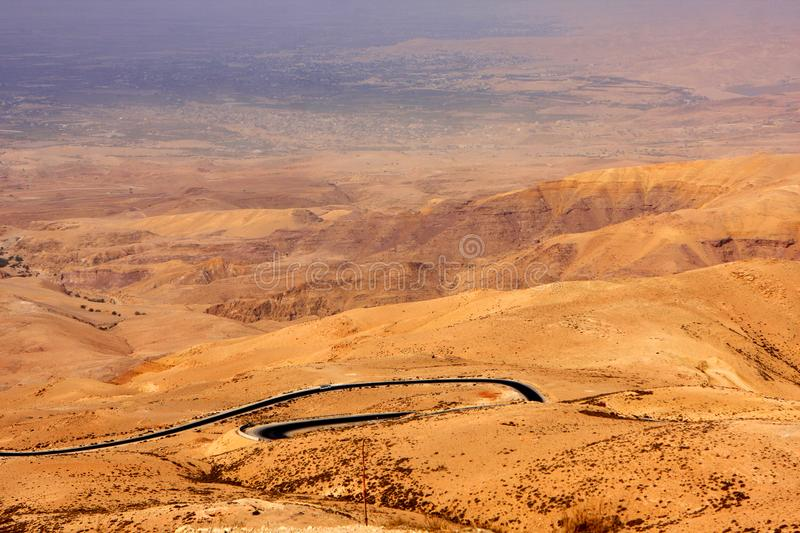 Download View from Mount Nebo stock image. Image of nature, desert - 104375843