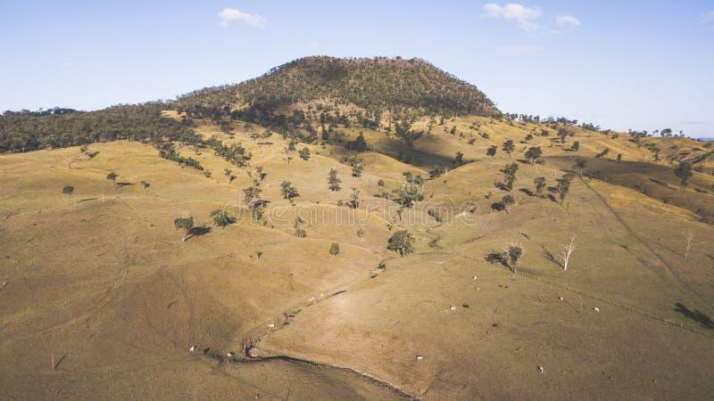 View of Mount Walker, Queensland royalty free stock images